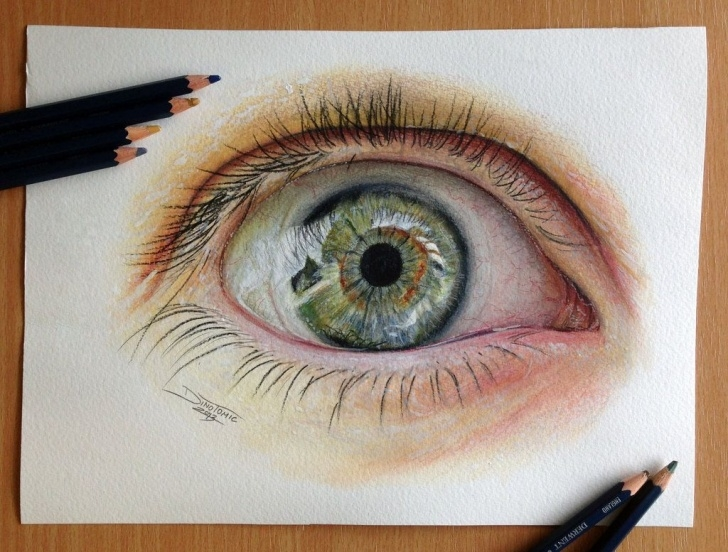 Wonderful Eye Color Pencil Drawing Step by Step Eye Color Pencil Drawing By *atomiccircus On Deviantart | Art Pics