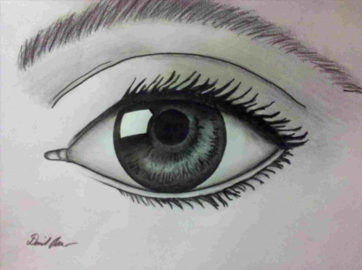 Wonderful Eye Pencil Art Ideas Image-Crying-Anime-Eye-Pencil-Drawing-Result-For-S-In-Tutorials Pictures