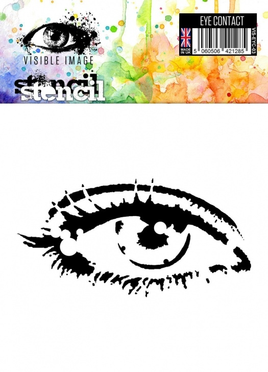 Wonderful Eye Stencil Art Techniques Eye Contact Image