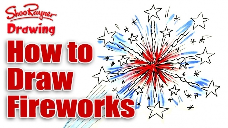 Wonderful How To Draw Firworks With Color Pencils Lessons How To Draw Fireworks For The 4Th Of July Photos
