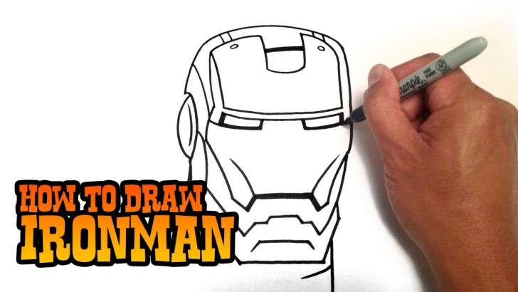 Wonderful Iron Man Drawings In Pencil Easy Techniques How To Draw Iron Man - Step By Step Video Images