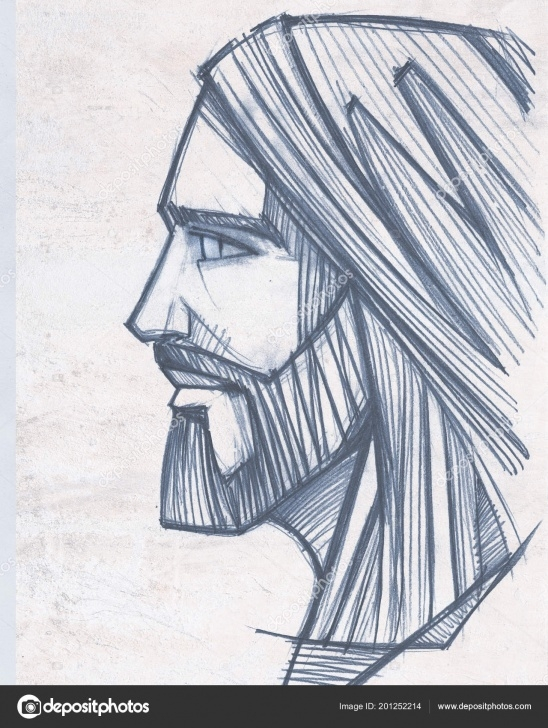 Wonderful Jesus Pencil Drawing Courses Dictures: Pencil Drawing Of Jesus On The Cross | Hand Drawn Pencil Pictures
