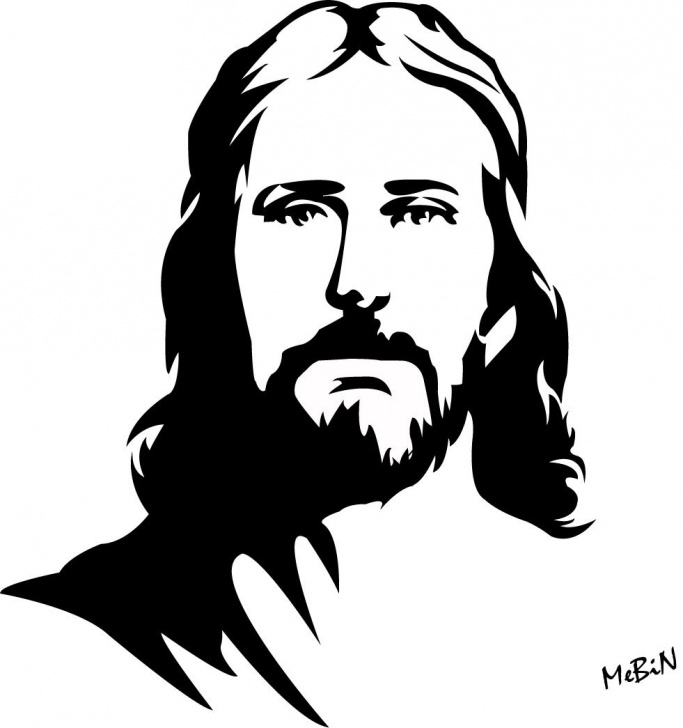 Wonderful Jesus Stencil Art Tutorials Pin By Kelsey Leavitt On Jesus Pictures | Jesus Drawings, Jesus Photo