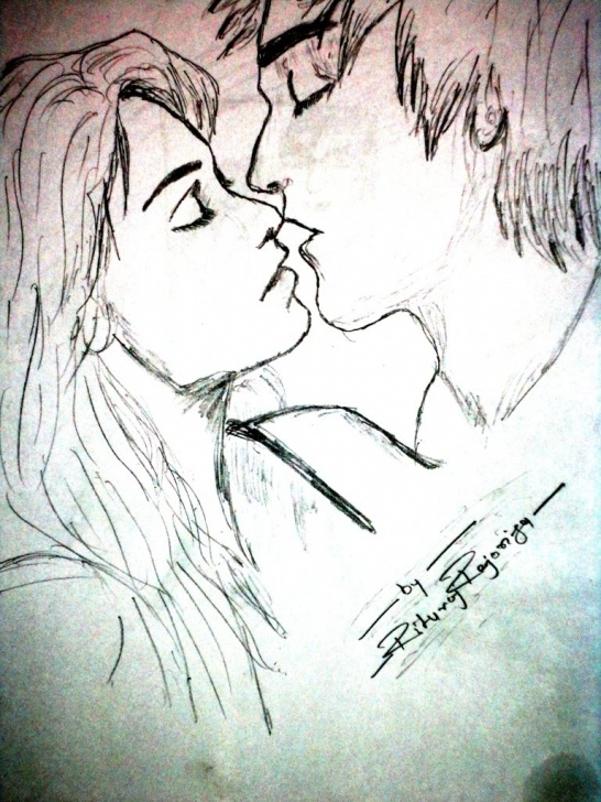 Wonderful Love Sketch Art Techniques for Beginners Love Sketch Art Images - Creative Art Pics