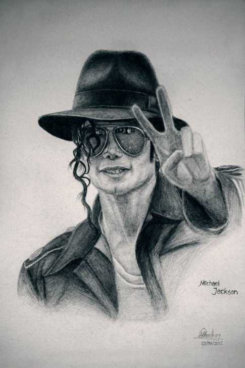 Wonderful Michael Jackson Pencil Sketch Tutorials Easy Drawing Of Michael Jackson - Google Search | Mia's House Photos