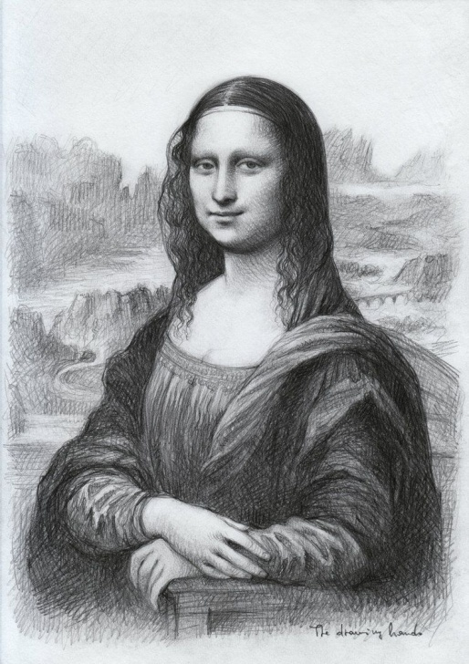 Wonderful Mona Lisa Pencil Drawing Techniques for Beginners Pin By Ihab Eladawi On Mona Lisa In 2019 | Mona Lisa Drawing, Pencil Image