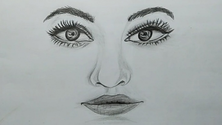 Wonderful Nose Pencil Sketch Step by Step How To Draw Realistic Eyes, Nose And Lips With Pencil Sketch For Beginners Pic