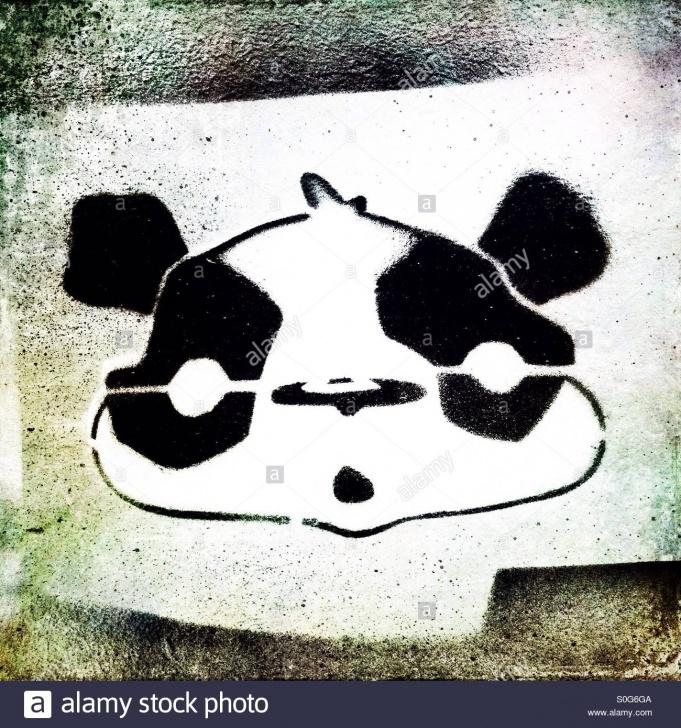 Wonderful Panda Graffiti Stencil Free Panda Stencil Stock Photo: 310143018 - Alamy Pic