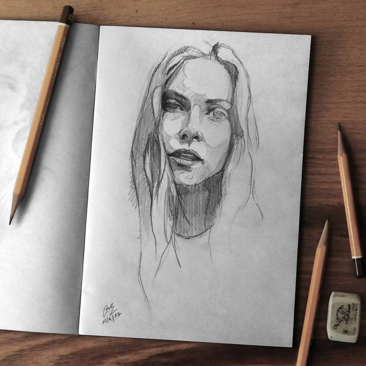 Wonderful Pencil Drawing Instagram for Beginners Steps For Portrait Drawing With Charcoal | Charcoal Drawings Pics