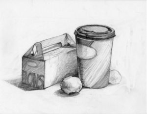 Wonderful Pencil Drawings Of Objects Free Sheridan Illustration Drawing Test - Still Life Of Simple Objects Picture