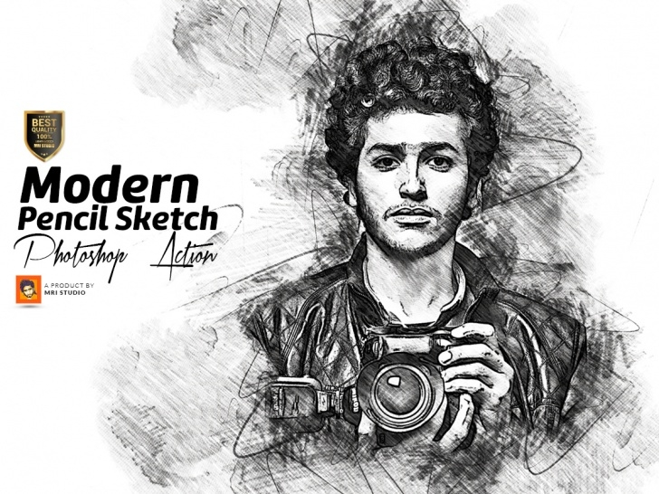Wonderful Pencil Sketch Action Tutorials Modern Pencil Sketch Photoshop Action By Mri Khokon On Dribbble Images