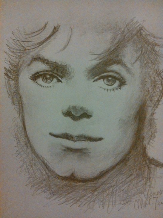 Wonderful Pencil Sketch Cost for Beginners Michael Jackson - Pencil Sketch Images