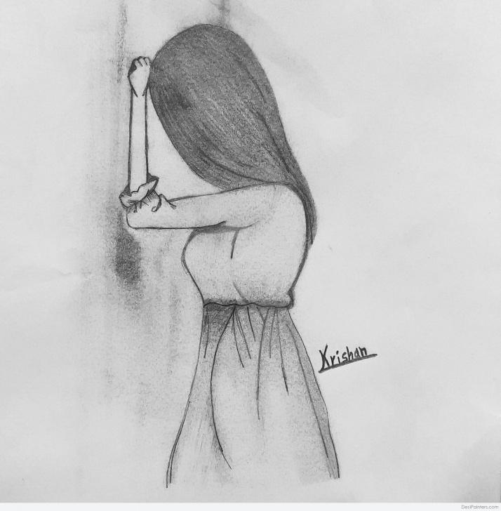 Wonderful Pencil Sketch Drawing Step by Step Beautiful Pencil Sketch Art By Krishan Varathe | Desipainters Pictures