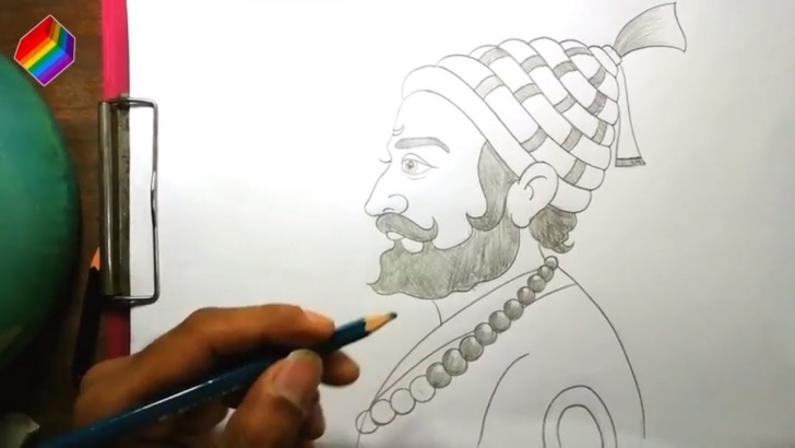 Wonderful Shivaji Maharaj Pencil Drawing Tutorial How To Draw Chhatrapati Shivaji Maharaj Pencil Sketch Drawing Pages Easily, Picture