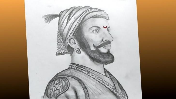 Wonderful Shivaji Pencil Sketch Tutorial How To Draw Shivaji Maharaj Face Pencil Drawing Step By Step Tutorial Pics