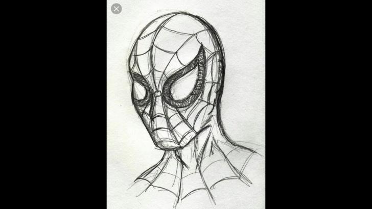 Wonderful Spiderman Drawings In Pencil Easy Tutorials How To Draw Spiderman Pencil Sketch. Easy Drawing Tutorial. Photos